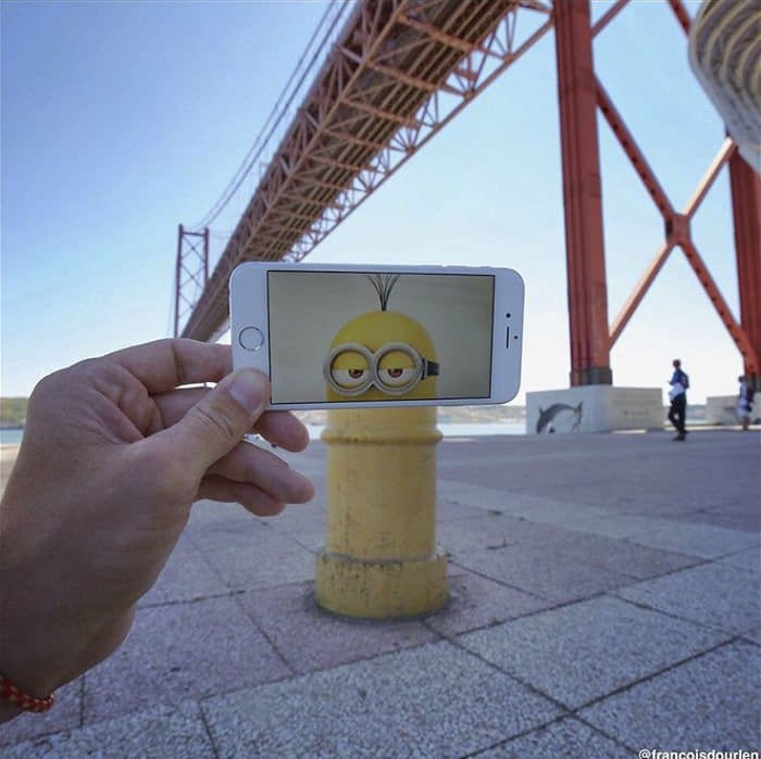 Movie Scenes In Real Life minions