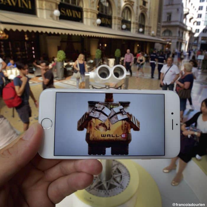Movie Scenes In Real Life walle