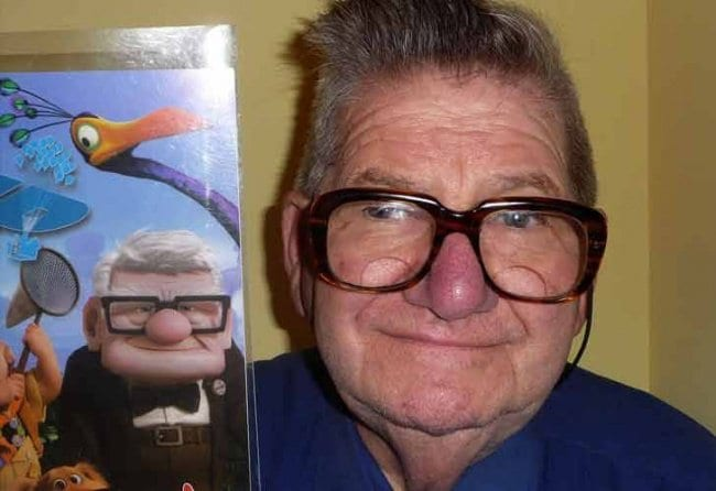 Real Life Cartoon Characters carl fredrickson up
