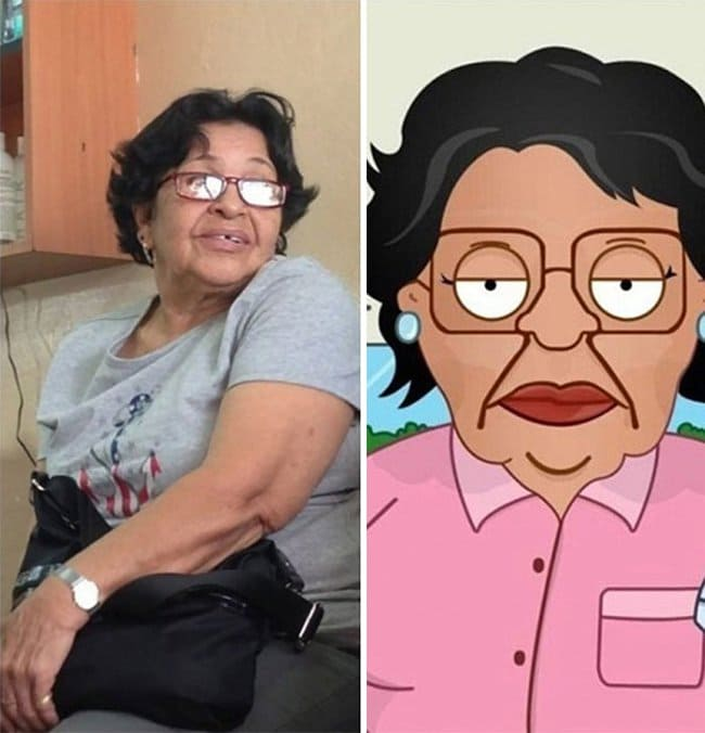Real Life Cartoon Characters consuela family guy
