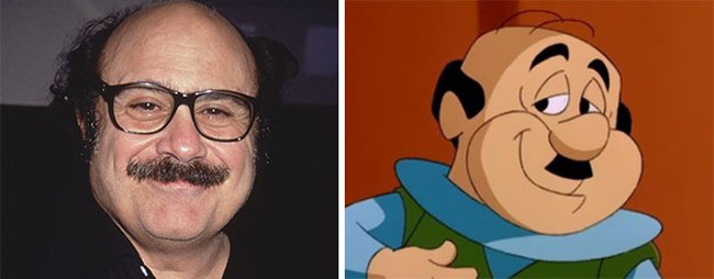 Real Life Cartoon Characters danny devito mr spacely
