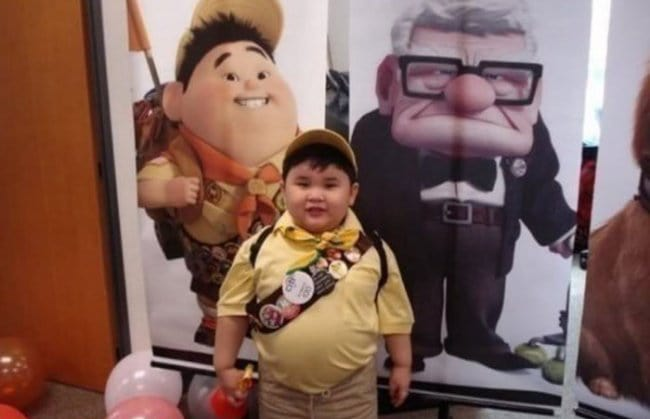Real Life Cartoon Characters russel up