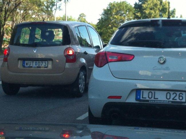 Shots Taken Perfect Moment car plates wut lol