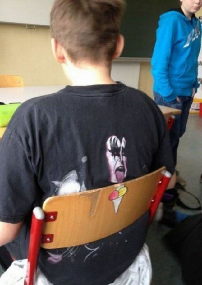 Shots Taken Perfect Moment tshirt and chair grafitti