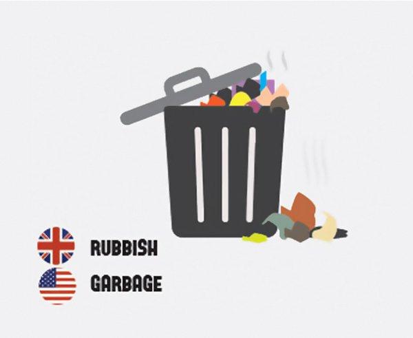 differences-us-british-english-rubbish garbage