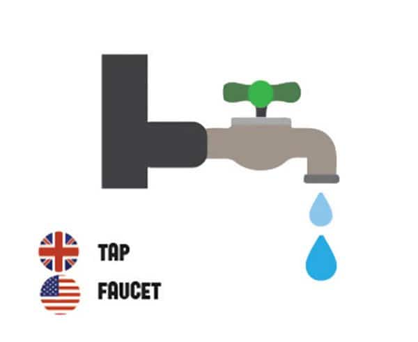 differences-us-british-english-tap faucet