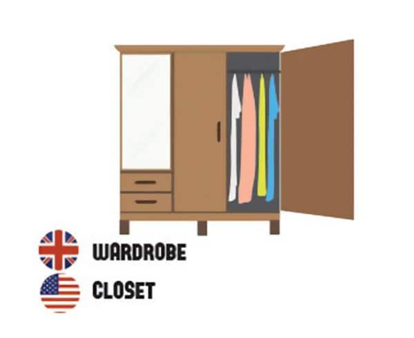 differences-us-british-english-wardobe closet