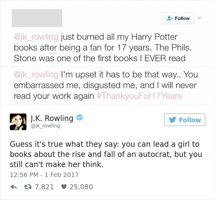 funny-jk-rowling-twitter-comebacks rise and fall of an autocrat