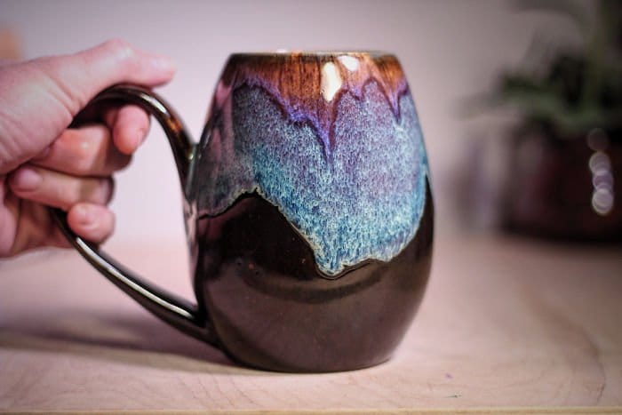 galaxy-inspired-ceramics notched mug
