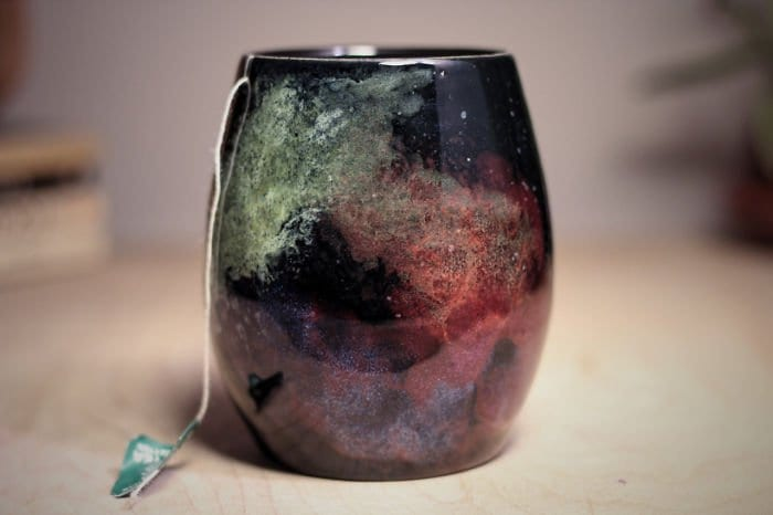 galaxy-inspired-ceramics tea cup