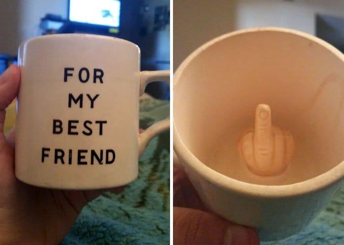 gift from grandma best friend mug