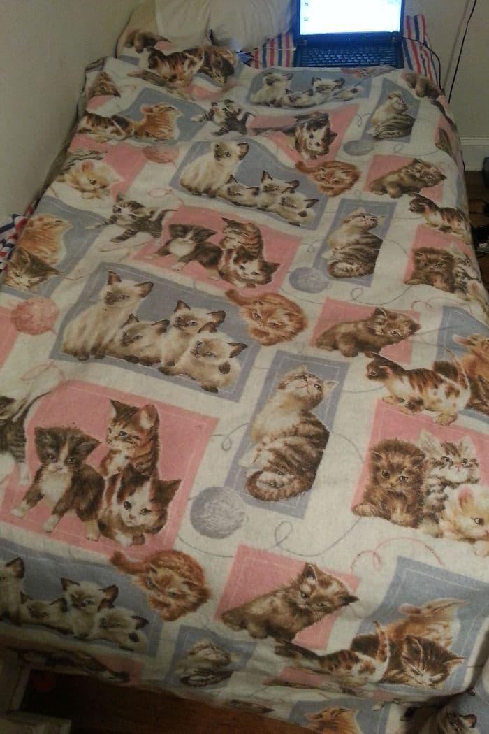gift from grandma cat blanket