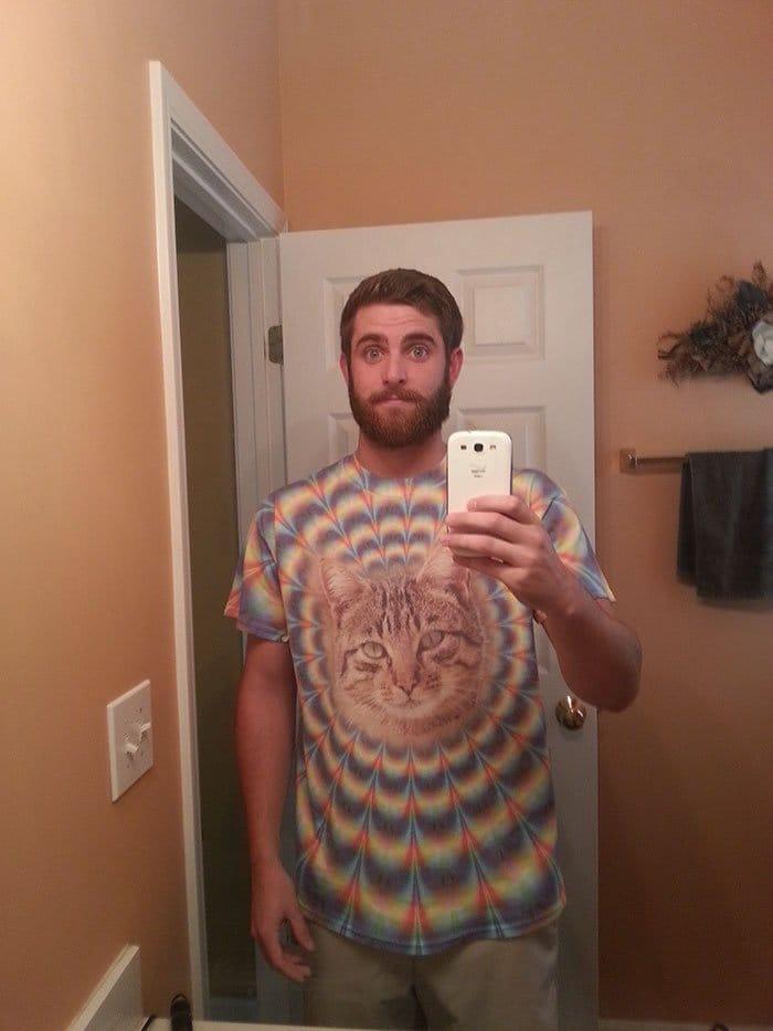 gift from grandma cat tshirt