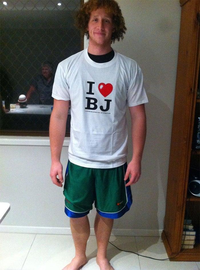 gift from grandma i love bj shirt