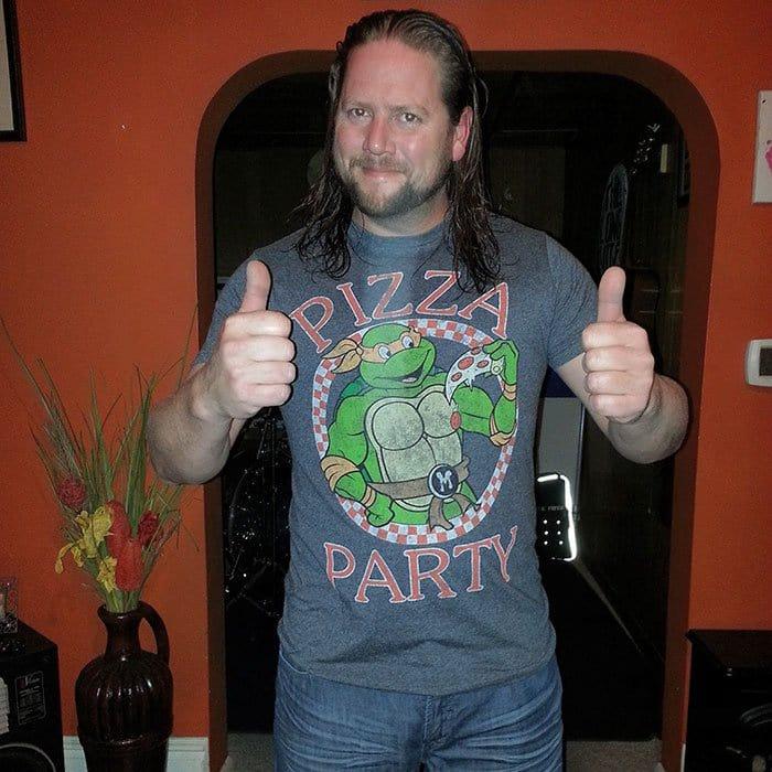 gift from grandma ninja turtle shirt