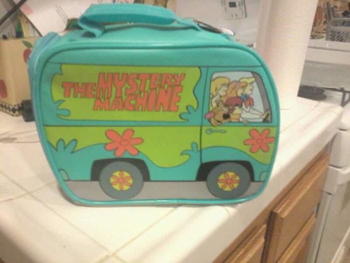 gift from grandma scooby doo lunch box