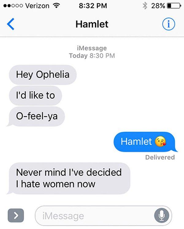 literature-romantics-could text hamlet william shakespeare