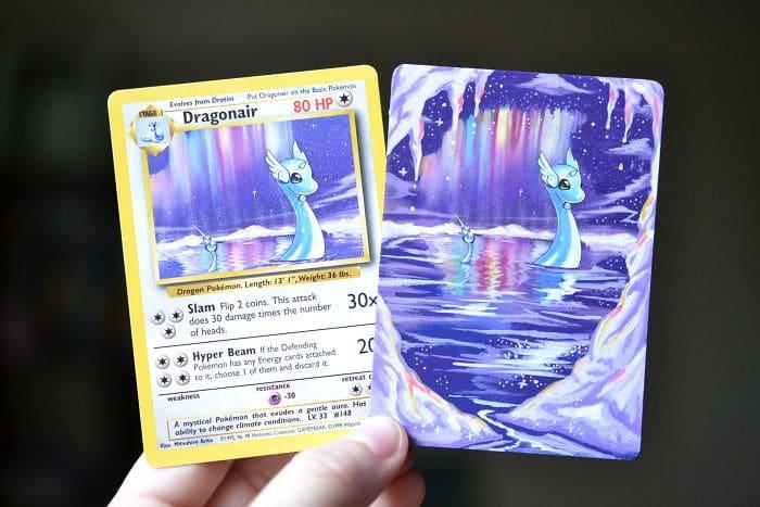 lunumbra pokemon cards dragonair dupe