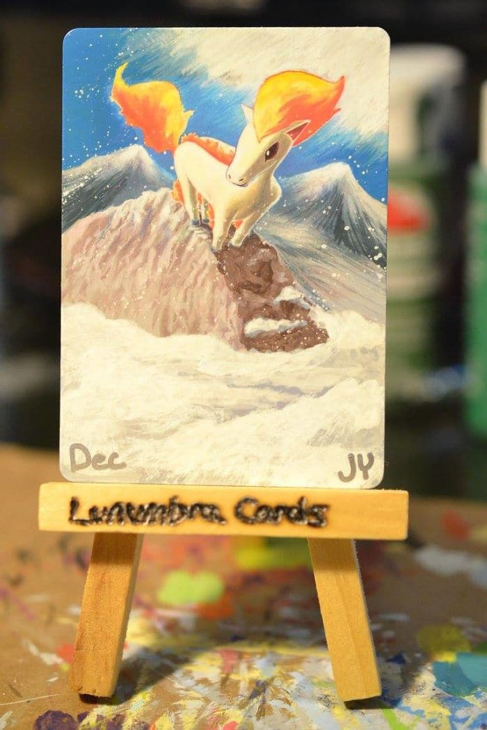 lunumbra pokemon cards ponyta