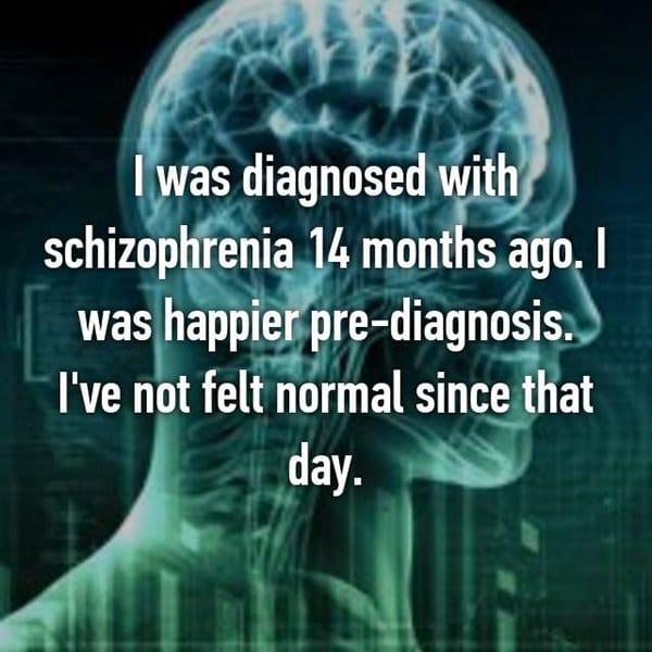 real life description schizophrenia happier pre diagnosis