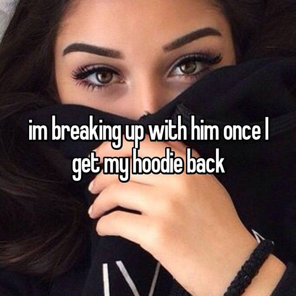 reasons waiting to break up hoodie back