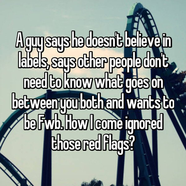 relationship red flags doesnt believe in labels