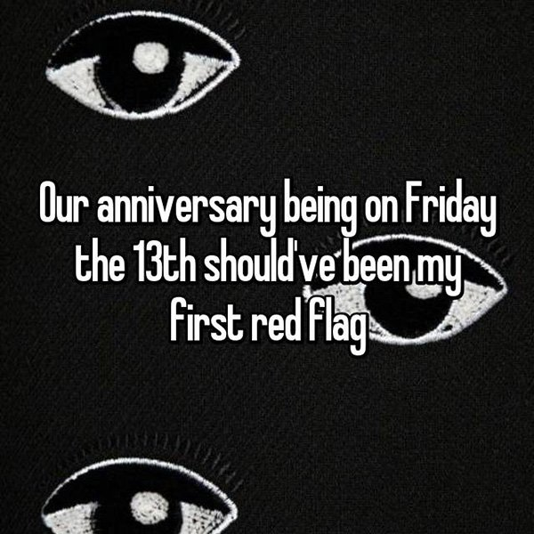 relationship red flags friday 13th