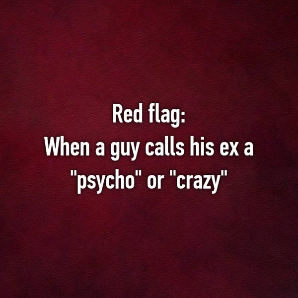 relationship red flags psycho ex