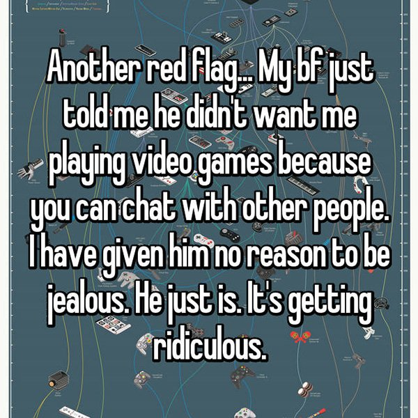 relationship red flags video games