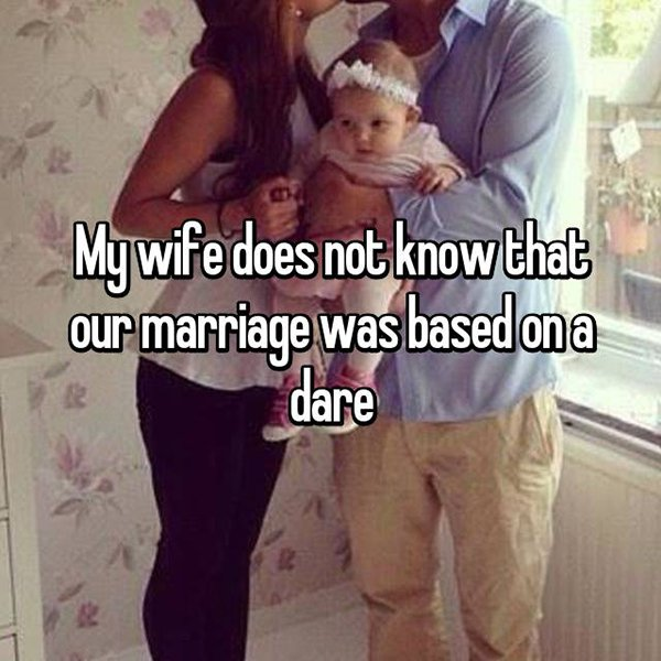 secrets in marriage based on a dare