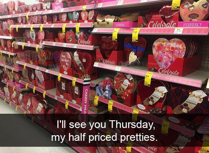 single people jokes half priced pretties