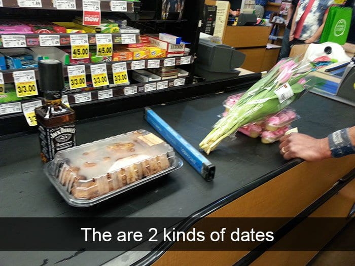 single people jokes two kinds of dates