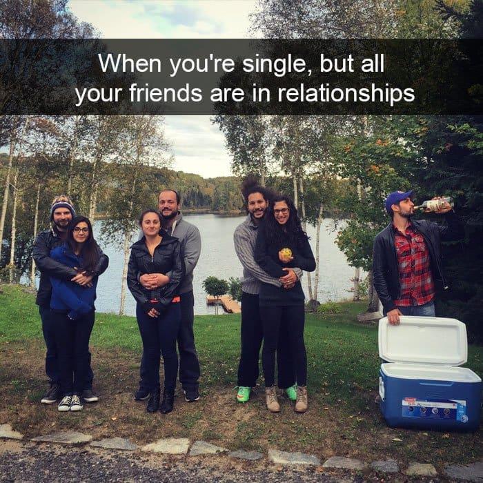 single people jokes when youre single