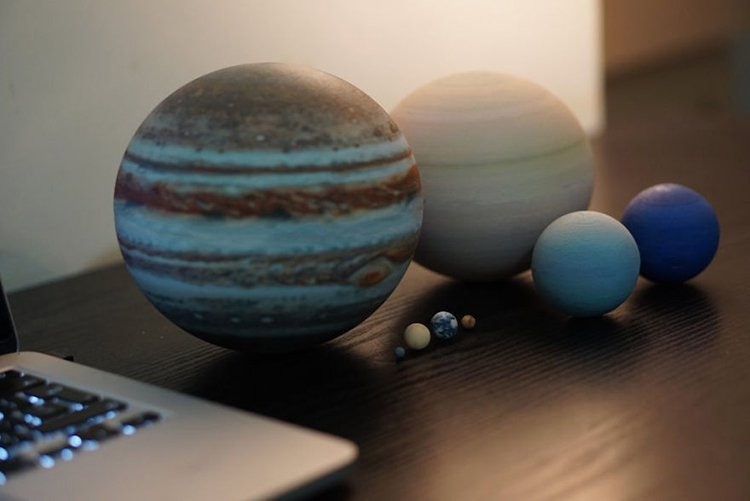 3d-planet-models-8 planets of the solar system