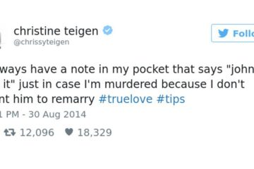 Funny Chrissy Teigen Tweets