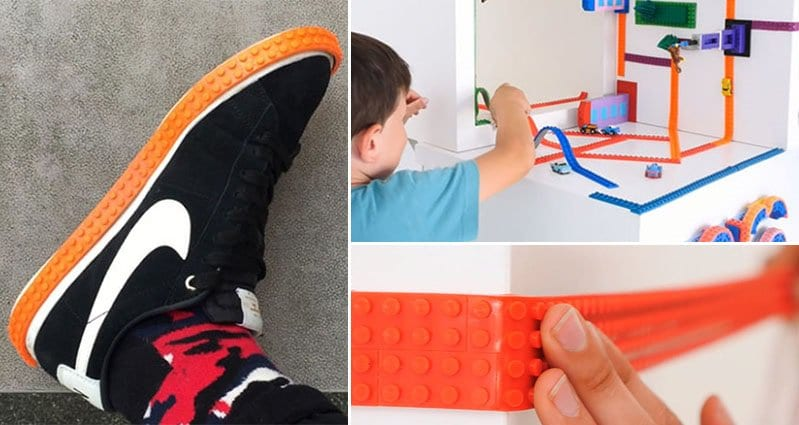 This Lego Tape Lets You Transform Any Surface Into A Lego