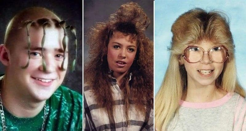 Ridiculous '80s And '90s Hairstyles That Should Never Come