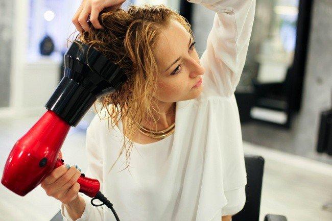 beauty hacks hair drying