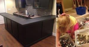 bottle-cap-kitchen-counter-top