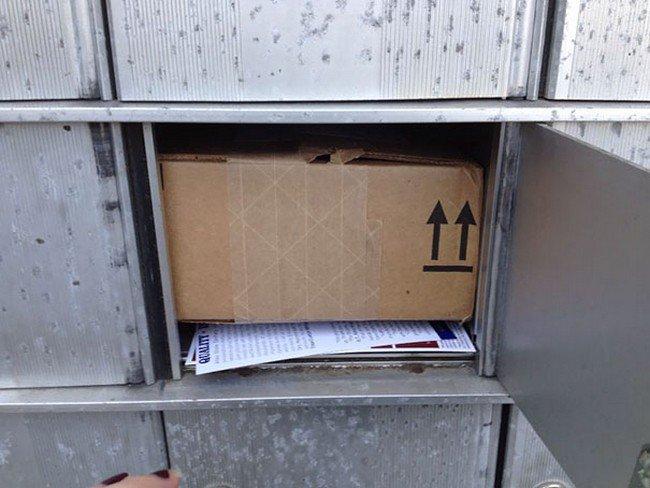box mailbox