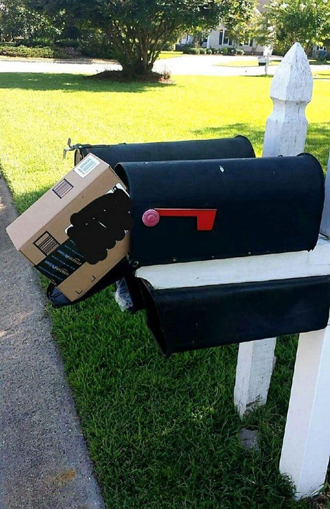 box not fit mailbox