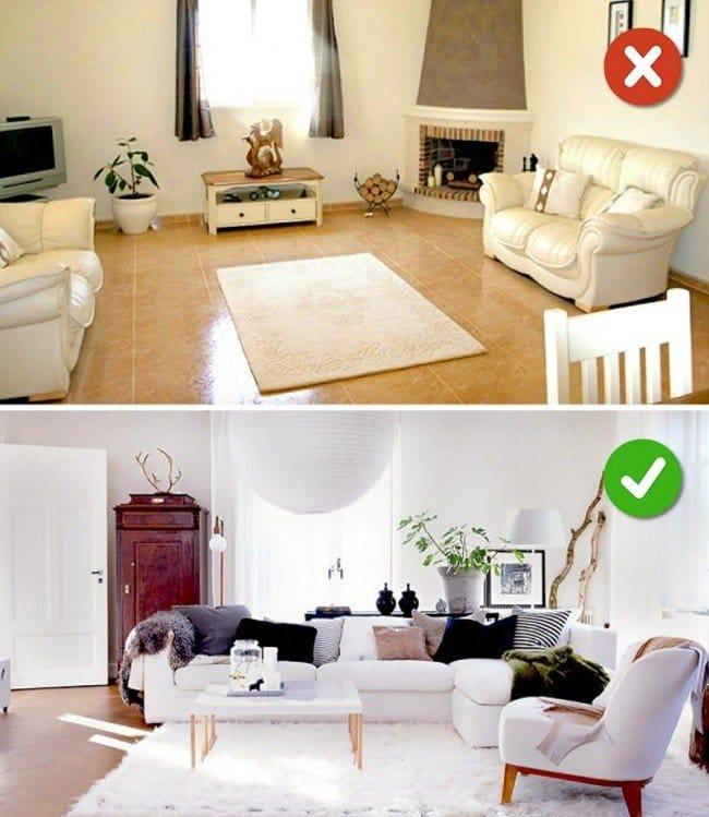 carpet living room