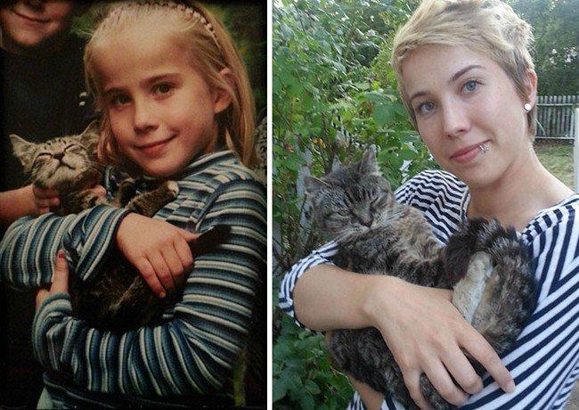 cat girl kid adult