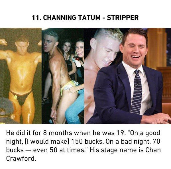 channing tatum stripper