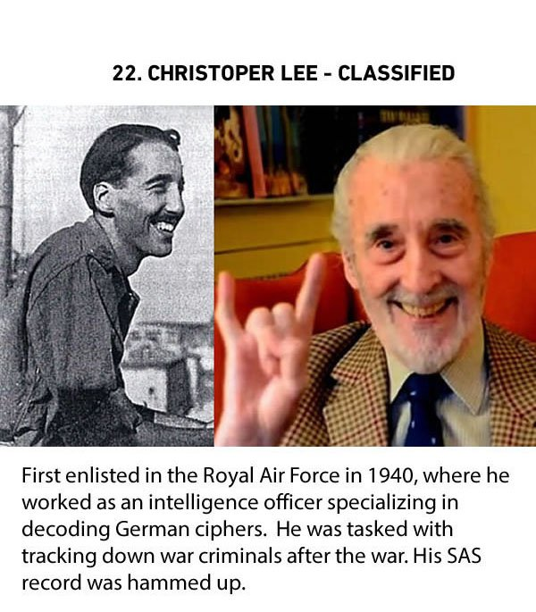 christopher lee classified