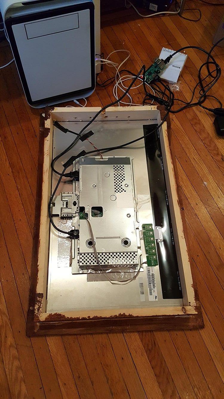 computer monitor mirror raspberry pi
