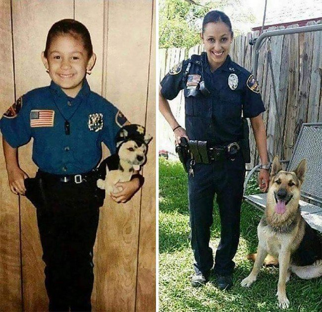 cop kid adult