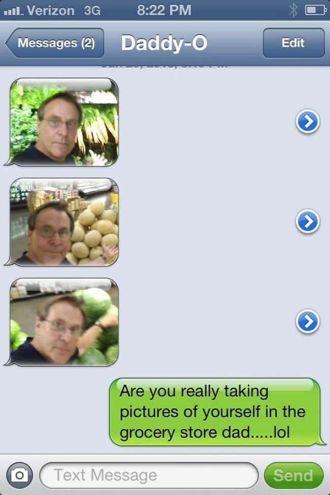 dad selfies