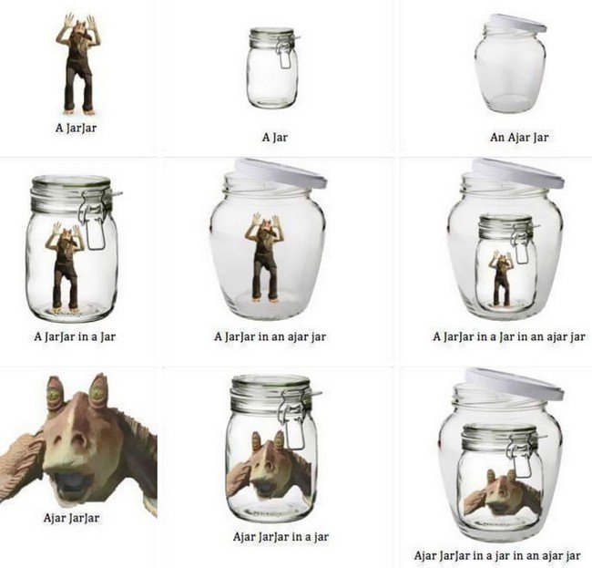 english language jokes jar jar