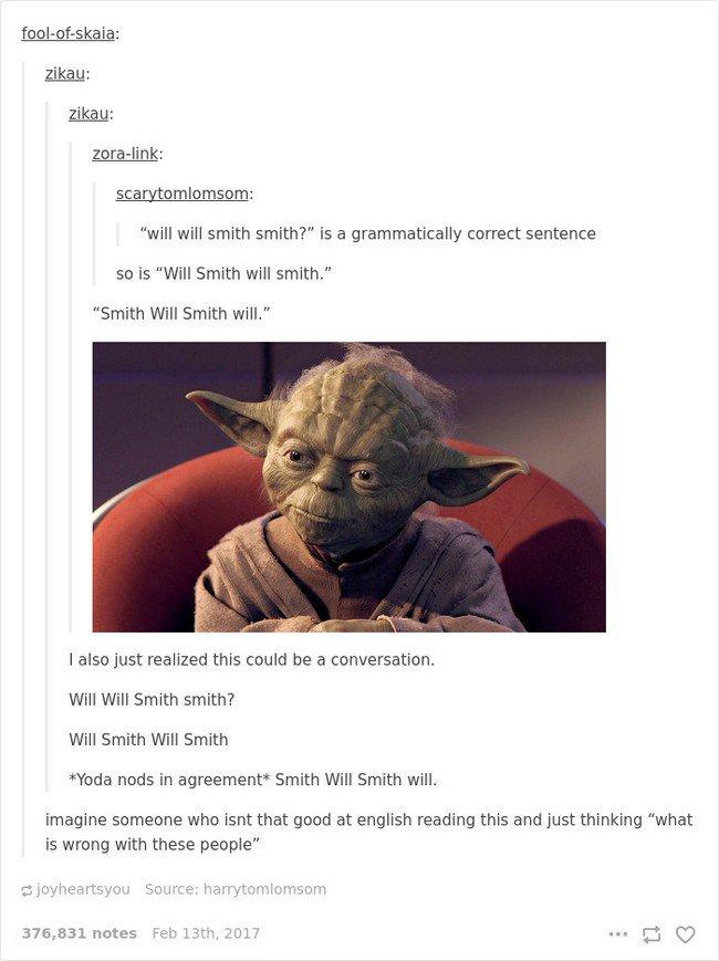 english language jokes will smith